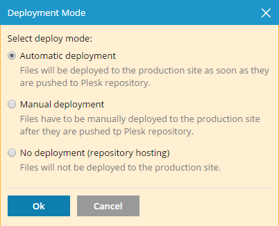 Git_push_Deployment_mode